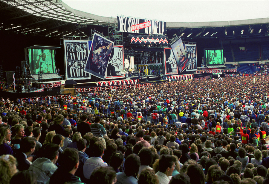 Concert to honour Nelson Mandela, Wembley Stadium 1988