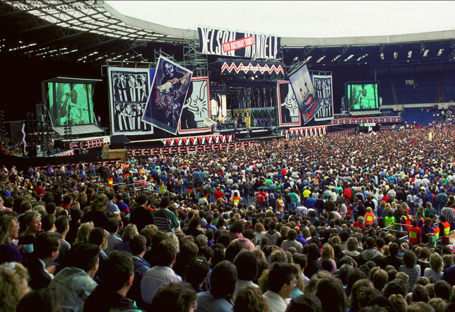 Concert to honour Nelson Mandela, Wembley Stadium 1988