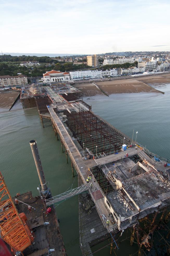 Hastings Pier 27 September 2014