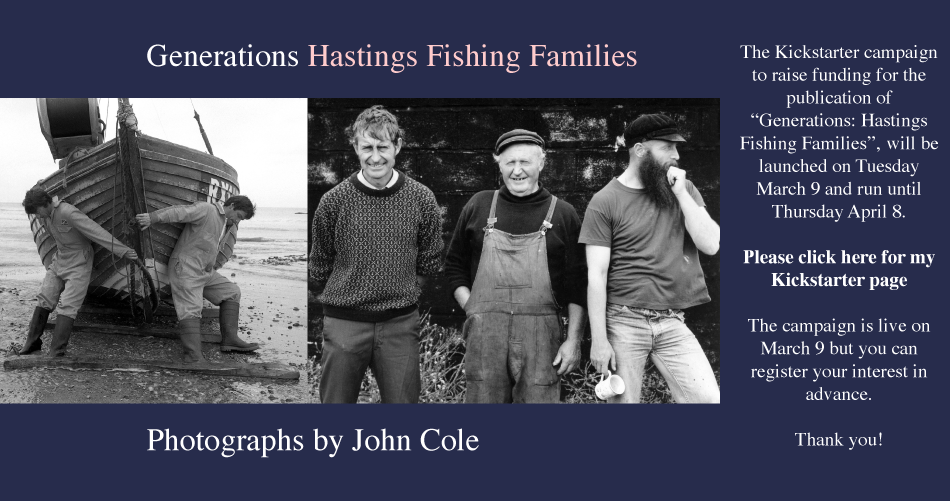 Generations Hastings fishing families Photographs by John Cole